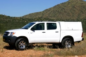 Odyssey Care Hire Hilux Double Cab