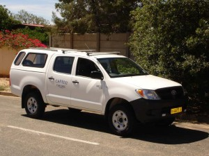 Caprivi Car Hire Hilux Double Cab