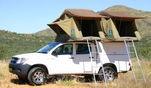 Odyssey Care Hire Hilux Double Cab Camping