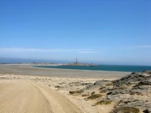 Roads - Track on beach