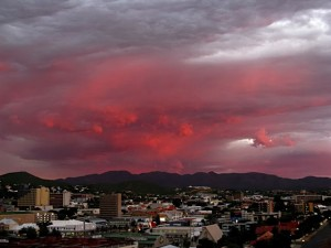 Windhoek - Sunset 1