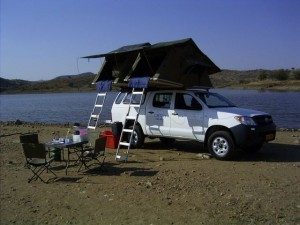 Caprivi Car Hire Hilux Double Cab Camper
