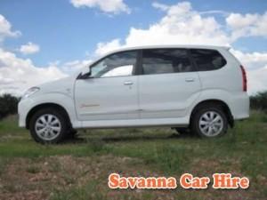 Savanna Car Hire Avanza