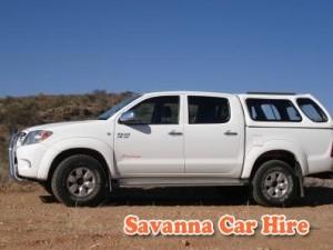 Savanna Car Hire Double Cab