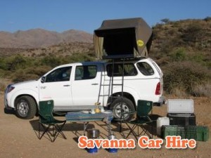 Savanna Car Hire Double Cab Camper