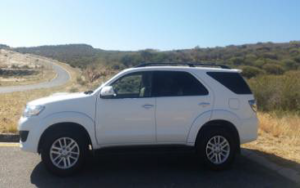 Desert Car Hire Fortuner