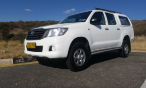Desert Car Hire Double Cab