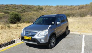 Desert Car Hire Honda CRV