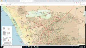 Namibia interactive map